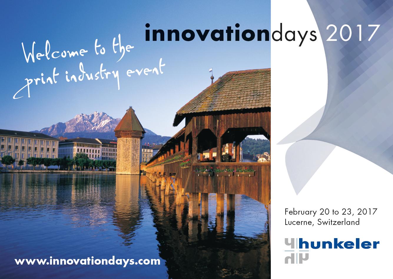 Docufield zaprasza na Hunkeler Innovationdays 2017