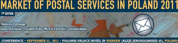 Konferencja - Rynek usług pocztowych w Polsce